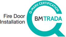 Q-Mark fire door installation scheme